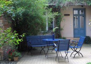 Mobilier de jardin naterial - Abri de jardin et balancoire idée