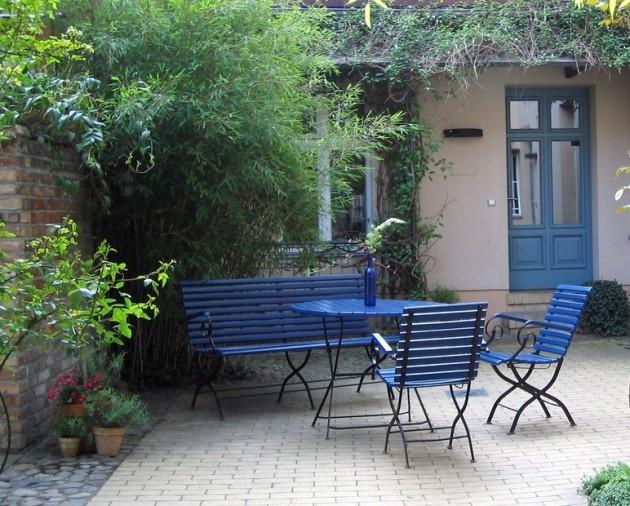 Peut on peindre un salon de jardin en teck - Abri de jardin et ...