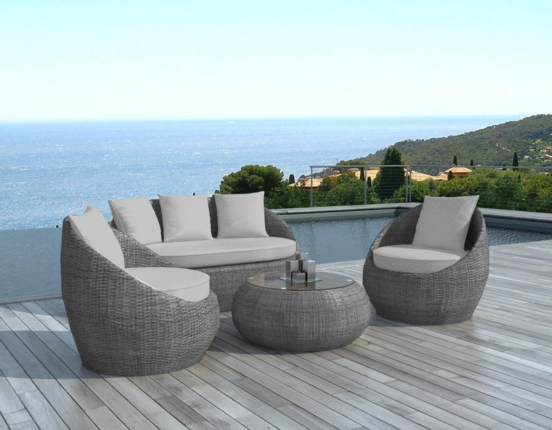 salon de jardin design arrondi ritardo abri de jardin et. Black Bedroom Furniture Sets. Home Design Ideas