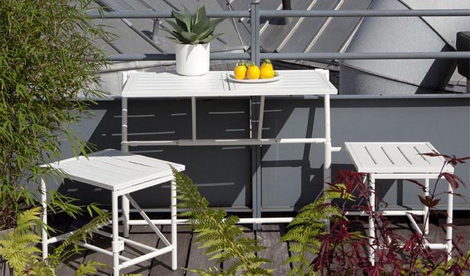 Salon de jardin a babou - Abri de jardin et balancoire idée