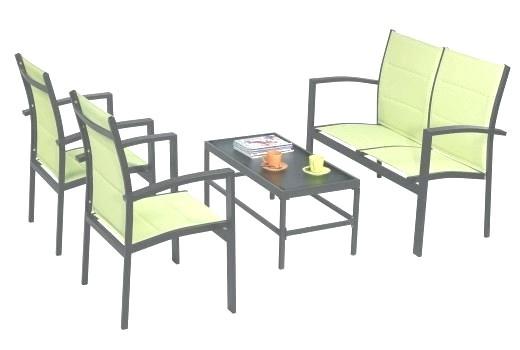 Table de salon de jardin babou - Abri de jardin et balancoire idée