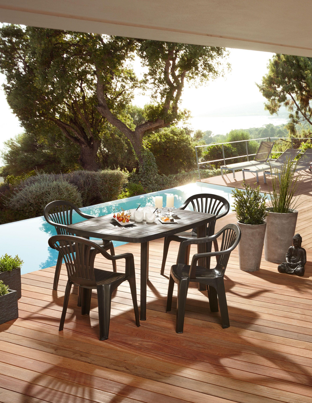 Petit salon de jardin centrakor - Abri de jardin et balancoire idée