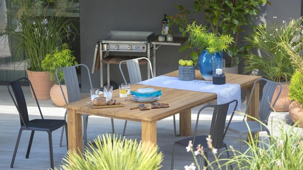 Jardiland salon de jardin en teck - Abri de jardin et ...