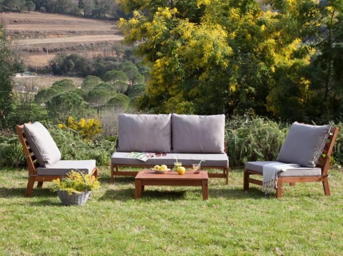 Salon bas de jardin cdiscount - Abri de jardin et balancoire ...