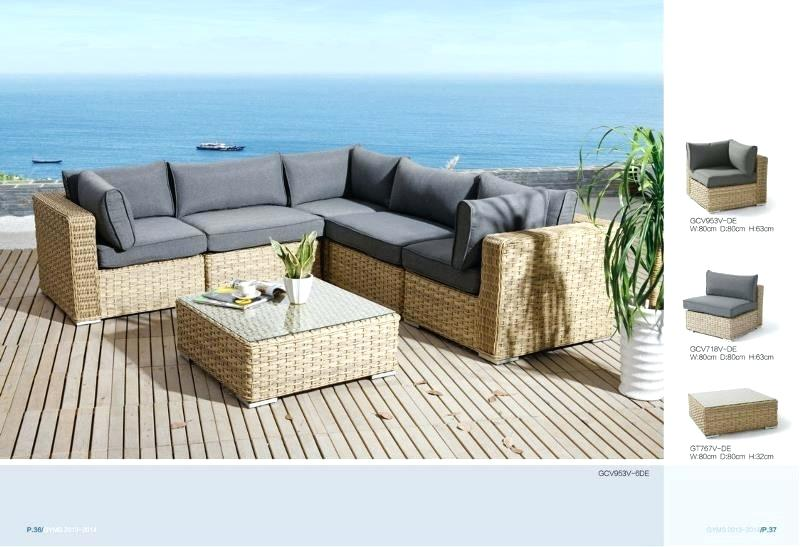 salon de jardin canap d 39 angle r sine tress e noir tropical abri de jardin et balancoire id e. Black Bedroom Furniture Sets. Home Design Ideas