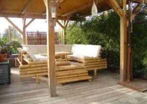 Salon de jardin tressé occasion - Abri de jardin et balancoire idée
