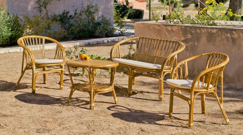 Entretenir mobilier de jardin en bambou - Abri de jardin et ...