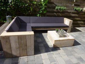 Construction salon de jardin avec palette - Abri de jardin ...