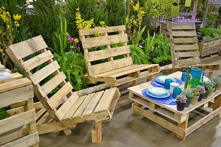 Salon de jardin fait soi meme avec palette - Abri de jardin ...