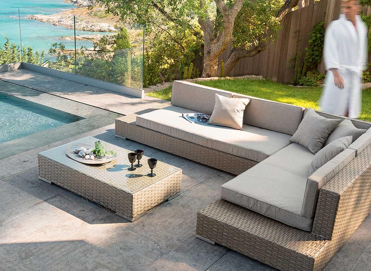 Salon de jardin bas modulable corte - Abri de jardin et ...
