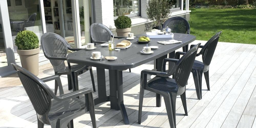 Salon de jardin harmony gris anthracite keter - Abri de jardin et ...