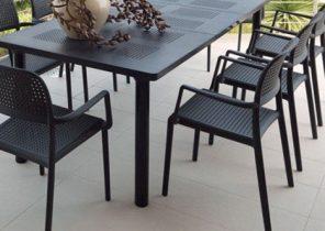 Table de salon de jardin en aluminium - Abri de jardin et ...