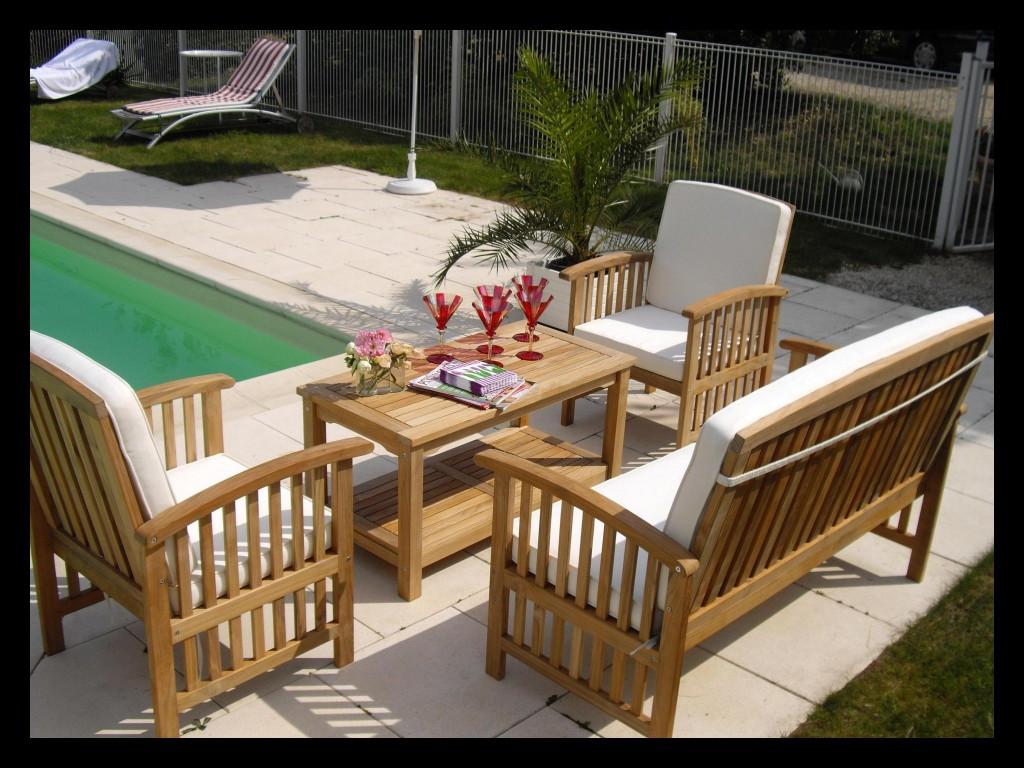 Salon de jardin en teck jardiland - Abri de jardin et ...