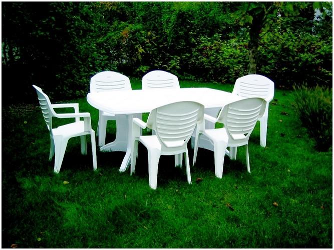 Salon de jardin en plastique recyclé - Abri de jardin et ...