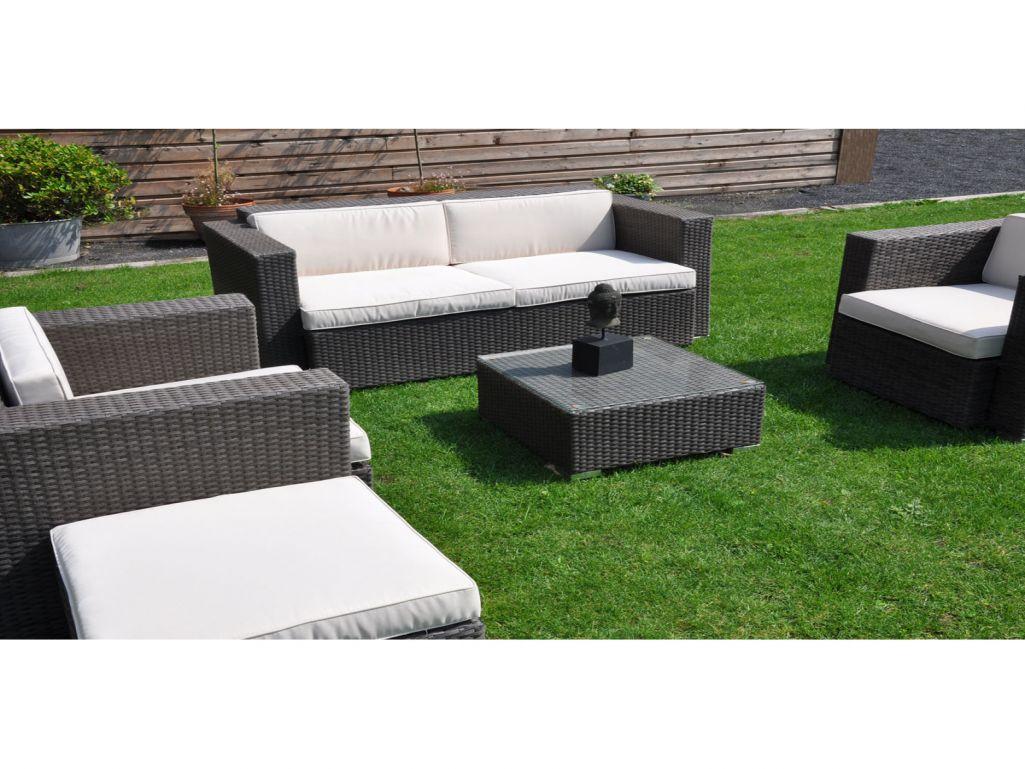 salon de jardin en resine tressee chez carrefour abri de. Black Bedroom Furniture Sets. Home Design Ideas