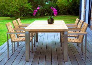 Peindre une table de salon de jardin en plastique - Abri de ...