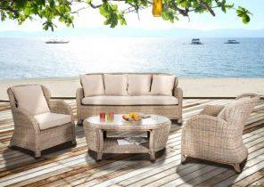 Salon de jardin angle table haute - Abri de jardin et balancoire idée
