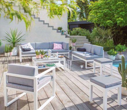 Salon de jardin chez botanic - Abri de jardin et balancoire idée