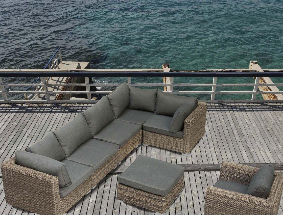 Best Salon De Jardin Tresse D Angle Contemporary - House Design ...