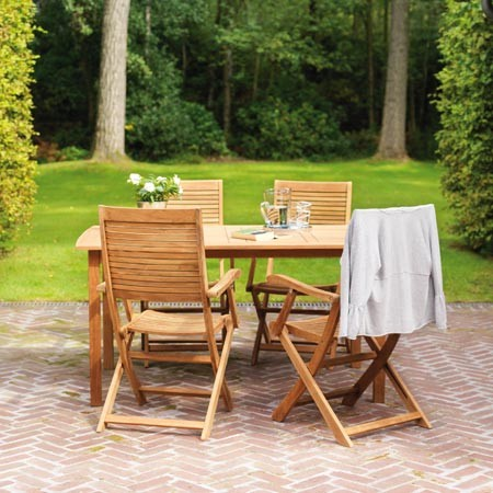 Salon de jardin balcon bois - Abri de jardin et balancoire idée