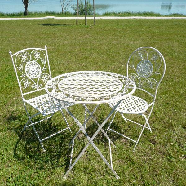 Décaper un salon de jardin en fer forgé - Abri de jardin et ...