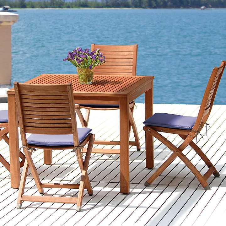 Emejing Table De Jardin En Bois Casa Images - House Design ...