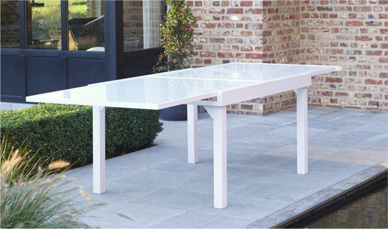 Salon de jardin blanc en solde - Abri de jardin et balancoire idée