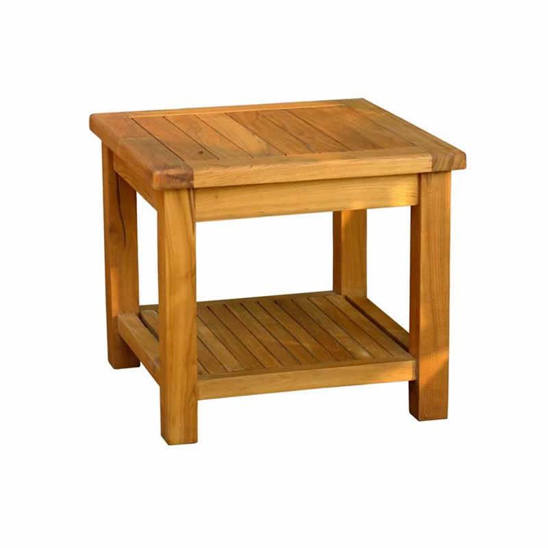 Salon de jardin table basse en teck - Abri de jardin et ...