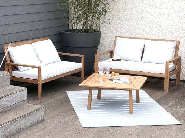 Salon de jardin en acacia entretien - Abri de jardin et balancoire idée