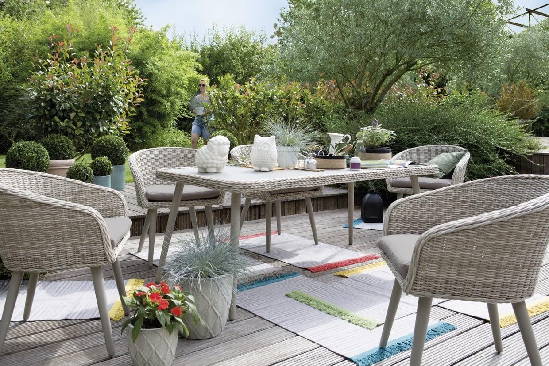 Chaise de salon de jardin jardiland - Abri de jardin et ...