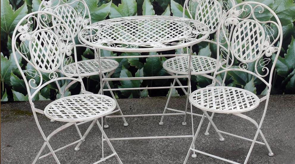 Acheter un salon de jardin en fer forgé - Abri de jardin et ...