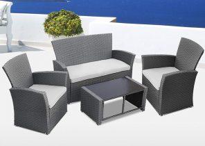 Salon de jardin auckland luxe
