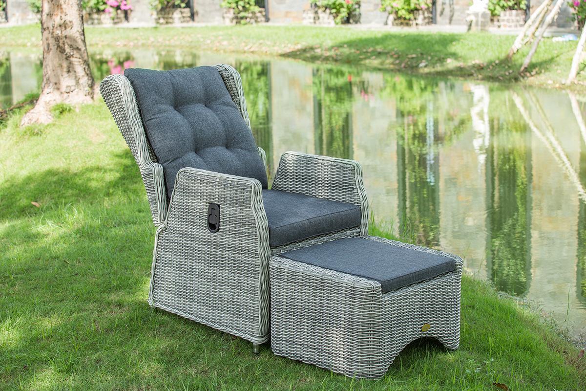 Salon de jardin fauteuil inclinable - Abri de jardin et ...