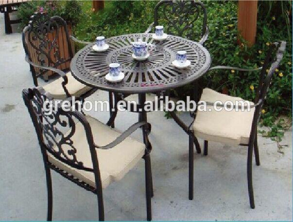 Mobilier de jardin en fonte d\'aluminium - Abri de jardin et ...