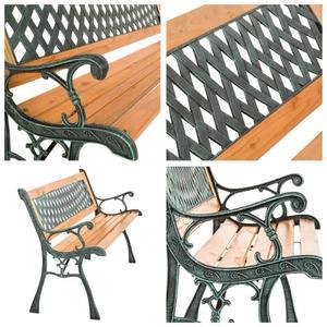 Salon de jardin fonte et bois - Abri de jardin et balancoire idée