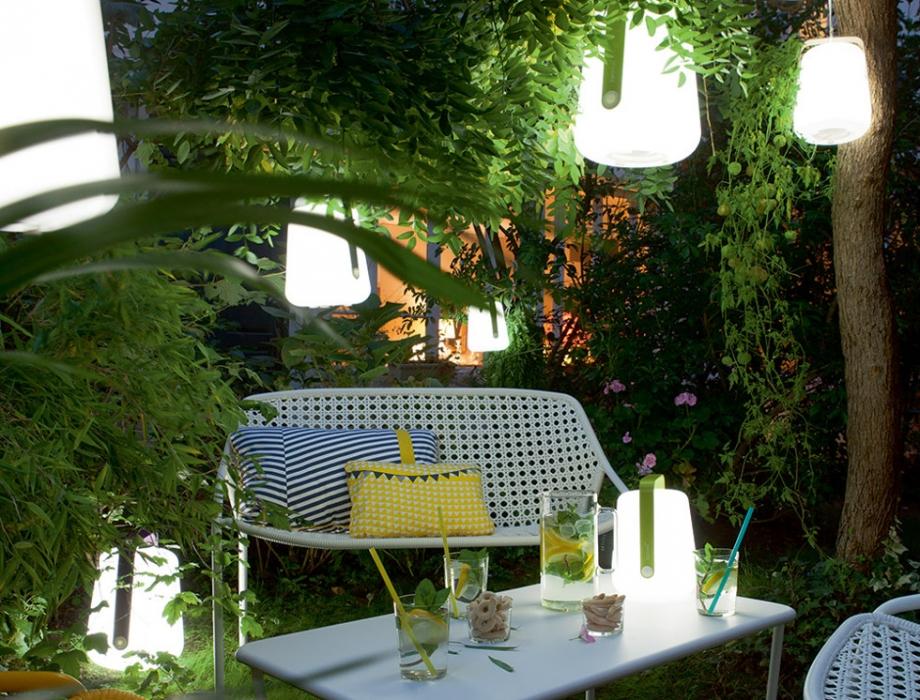 Mobilier de jardin gonflable