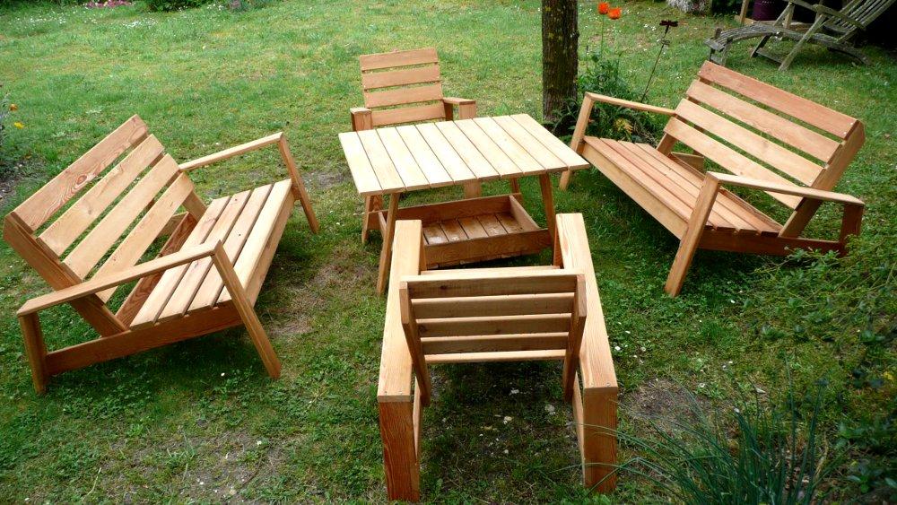 Idée Abri En Exterieur Balancoire Jardin Bois De Salon Et ...
