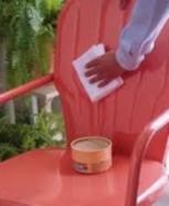 Comment renover un salon de jardin en plastique blanc - Abri de ...