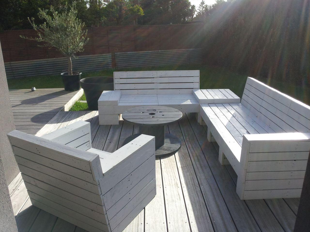 Stunning Plan Pour Fabriquer Une Table De Jardin En Palette Pictures ...