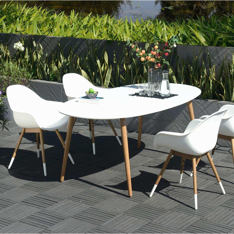 Salon de jardin en fer moderne - Abri de jardin et balancoire idée