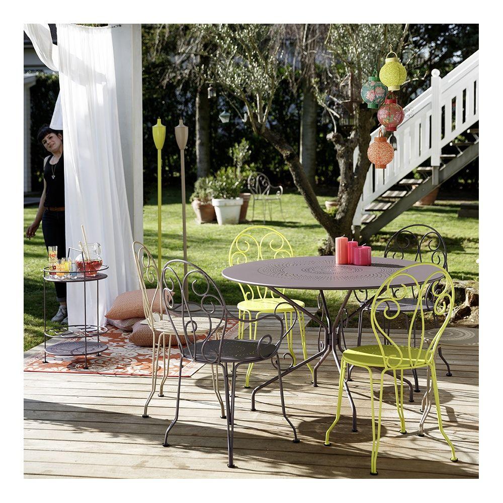 Salon de jardin imitation fermob