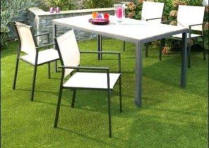 Salon de jardin antibes naterial gris - Abri de jardin et ...