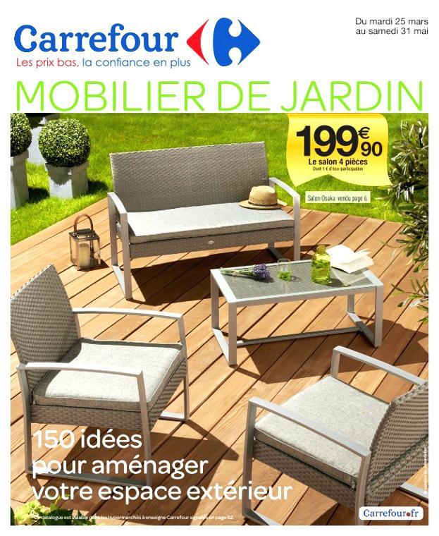 Salon de jardin super u catalogue - Abri de jardin et balancoire idée