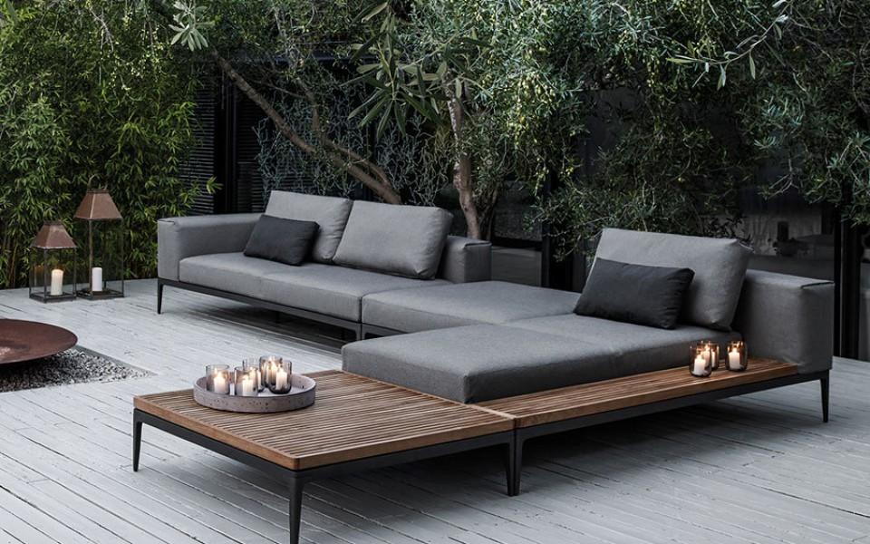 Mobilier de jardin haut gamme - Abri de jardin et balancoire idée