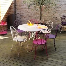 Salon de jardin fermob bistro - Abri de jardin et balancoire idée