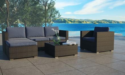 Salon de jardin luxe formentera 5 places - Abri de jardin et ...