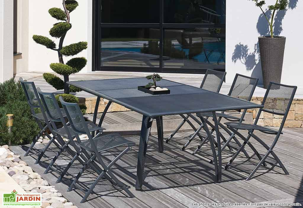 Awesome Table Jardin Pliante Grise Ideas - House Design ...